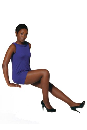 4352b8e5bb1 Pendeza Women s 1 Pair 15 Denier Tone 30 Sheer Tights For Darker Skin Tones  Extra Large Skintones