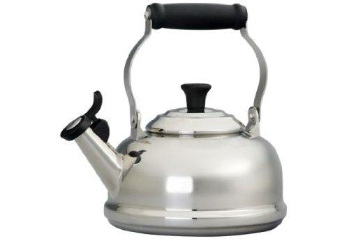 Le Creuset 1.75 -Quart Stainless Steel Whistling Tea Kettle (Tea Kettle Whistling Le Creuset compare prices)