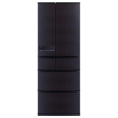 三菱 6ドア冷蔵庫 「置けるスマート大容量 JXシリーズ」(605L) MR-JX61Z-RW ロイヤルウッド
