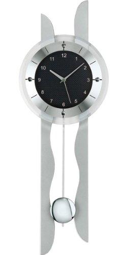 Ams ams5243 reloj de pared con p ndulo cuarzo marca for Reloj de pared con pendulo