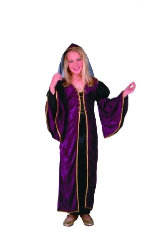 Child's Deluxe Burgundy Juliet Costume Size Large (12-14)