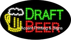 Draft Beer Flashing & Animated Led Sign (High Impact, Energy Efficient)