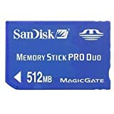 SanDisk 512Mb Magic Memory Stick for PSP Phat and Slim & Lite