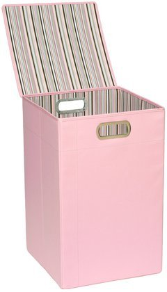Lowest Price! JJ Cole Hamper, Pink Stripe