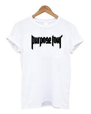 Mars NY Unisex Justin Bieber tshirt Purpose Tour tshirt