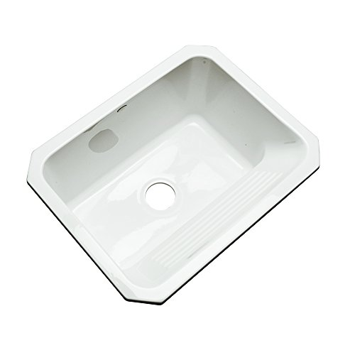 Sinks 31000UM Richfield Cast Acrylic Single Bowl Undermount Utility ...