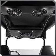 Polaris UTV Ranger RZR 4 SSV Works Overhead Speakers - pt# 2879232 (Polaris Ranger Audio Systems compare prices)