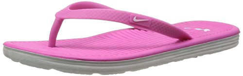 Nike Women'S Wmms Solarsoft Thong Ii, Red Violet/White-Lt Base Grey, 5 M Us