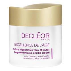 Decléor - Excellence de l'Âge - Crème Régénérante Yeux et Lèvres - 15 ml- (for multi-item order extra postage cost will be reimbursed)