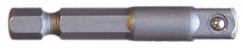 Century Drill and Tool 68578 Square-Drive Socket Adapter, 1/4 Inch