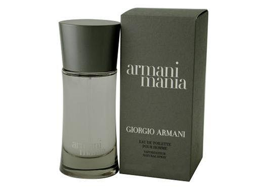Giorgio Armani Armani Mania Pour Homme Eau de Toilette, Uomo, 50 ml