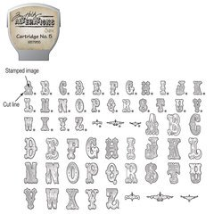 Sizzix eclips Stamp2Cut Cartridge By Tim Holtz Alterations No. 5