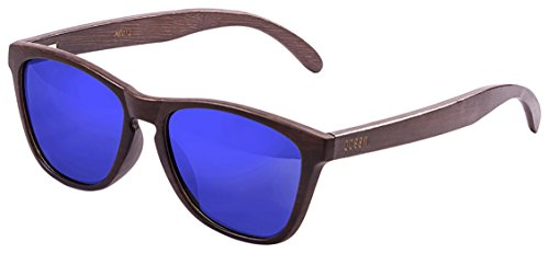ocean-sunglasses-sea-lunettes-de-soleil-mixte-adulte-brown-dark-frame-wood-dark-arms-revo-blue-lens