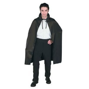 Adult & Child Costume Black Capes in Many Sizes