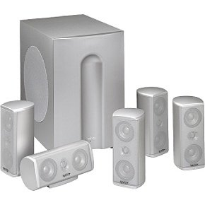 Infinity TSS-1100 Home Theater Speaker System (Platinum) (Infinity Subwoofer Package compare prices)