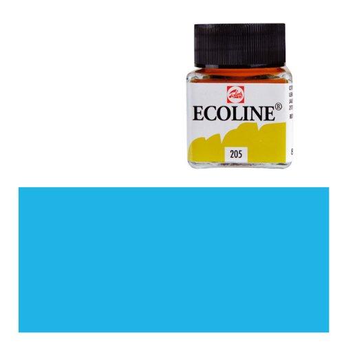Ecoline-fluessige wasserfarbe - 30 ml-bleu clair