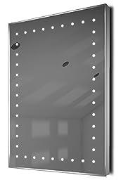 Auto Colour Change Ultra-Slim Bathroom Mirror With Demister & Sensor K168Rgb