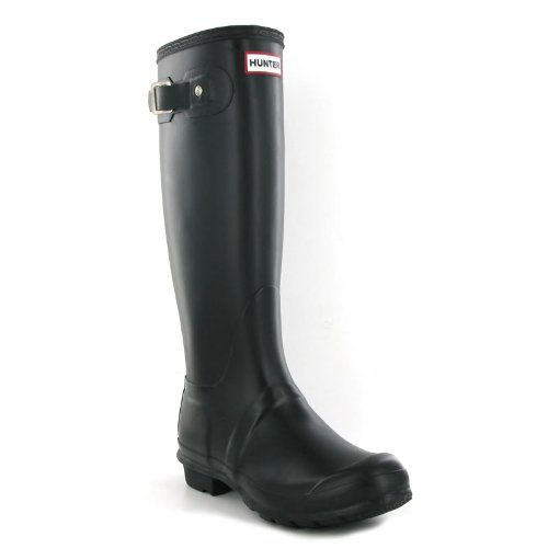 Hunter Original Black Womens Boots