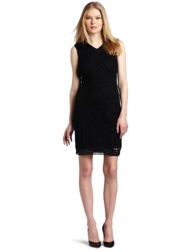 Cluny Women's Hourglass Dress, Black, 4