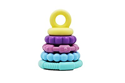 Twenty 13 Products Food Grade Soft Silicone Stackable Teething Toy - Teether - Educational, Fun, Safe, & Super Cute by Twenty 13 Products that we recomend personally.