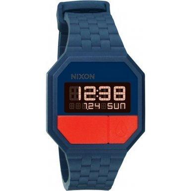 Nixon A169-1880 Ladies Rubber Re-Run Navy Red Watch