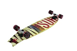 Buy Kryptonics Swallowtial Choice Longboard Complete Skateboard, 34 x 9-Inch by Kryptonics