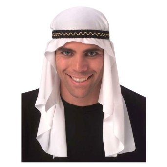 Rubie's Costume Arabian Mantle, White