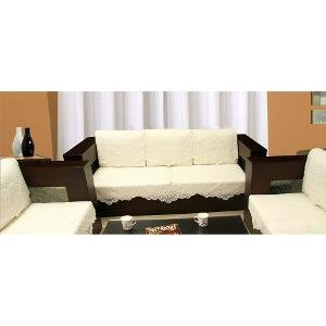 Zesture 6 piece sofa and chair cover set (white)