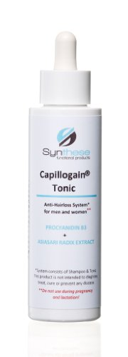Capillogain® Tonic 100ml Anti-Hairloss System for men and women. Made in Germany