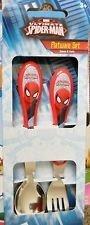 Spiderman Flatware Set Spoon & Fork - 1