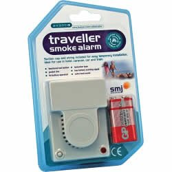 Travel Smoke Alarm from s.m.j