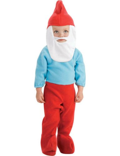 Baby-Toddler-Costume Papa Smurf Toddler Costume Halloween Costume