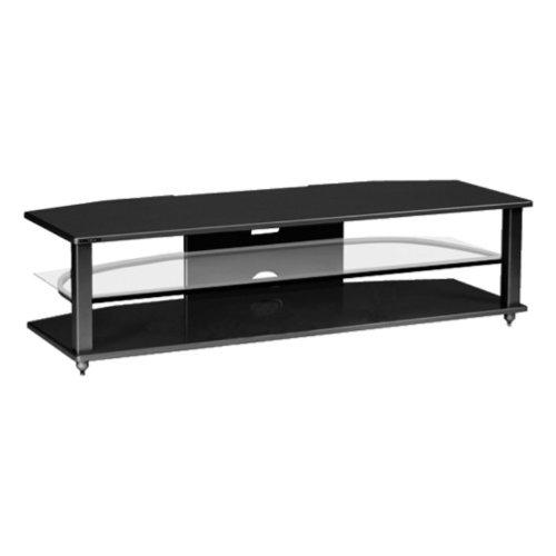 Cheap Plateau CRX-2V 64 Inch TV Stand in Black (CRX-2V (64) (B)-B)