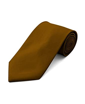 Solid Ties / Multiful color Formal Tie by boxed-gift, Gold