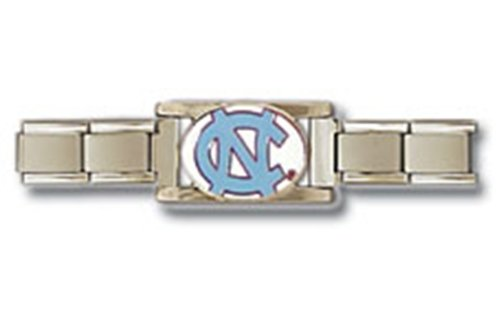 North Carolina Tarheels UNC Stainless Steel Jewelry Bracelet at Amazon.com