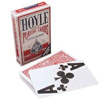 Hoyle Super Jumbo Bridge Style Playing Cards (Single Deck)