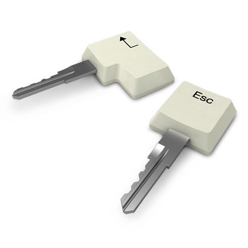 Key Caps キーキャップ キーボード キーカバー すっぽり 鍵カバー エンター、エスケープ キーカバー