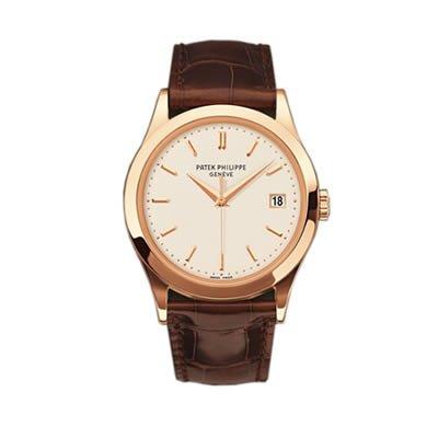 Patek Philippe Calatrava Men's 18K Rose Gold Watch - 5296R-010