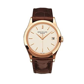 Patek Philippe Calatrava Men's 18K Rose Gold Watch - 5296R-010