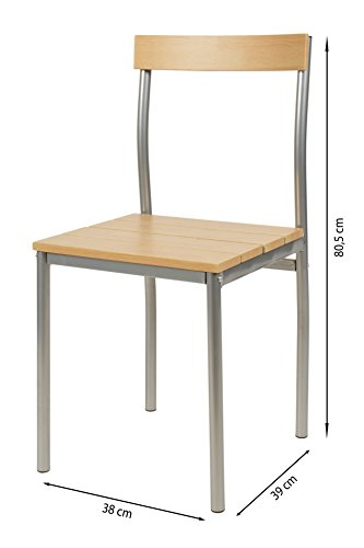 Ts ideen 3er set essgruppe tisch stuhl platzsparend esstisch 3 ...