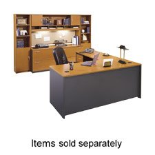 Series C: Left L-Bow Desk- Hansen Cherry