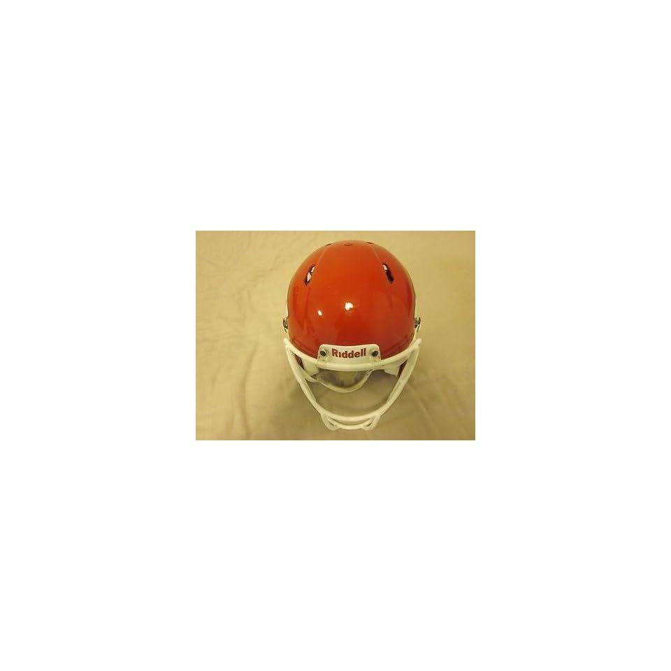 Dwayne Bowe #82 Kansas City Chiefs Game Used Helmet   NFL Helmets