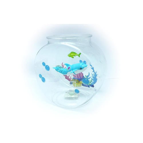 Lil Fishys Micro Habitat with 3.5 in. Fish (Color/Styles May Vary) (Lil Fishy Tank compare prices)