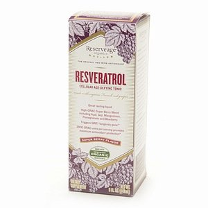 Reserveage Organics Resveratrol Cellular Age-Defying Tonic, Super Berry 5 Fl Oz (148 Ml)