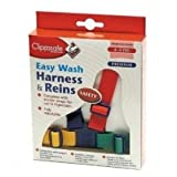 Clippasafe Easy Wash Webbing Baby Harness Multi Coloured