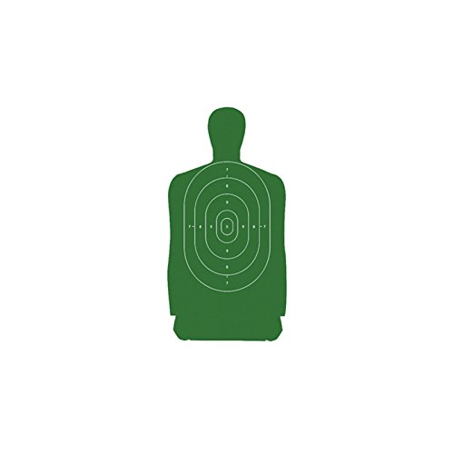 Law Enforcement Targets B-27S Standard Silhouette Target 24x45 Inch Green 100 Per (Shooting Targets 24x45 compare prices)