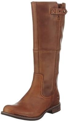 Timberland  Savin Hill FTW_EK Savin Hill Strap Tall Boot, bottines classiques femme - Marron - Marron, 41.5 EU