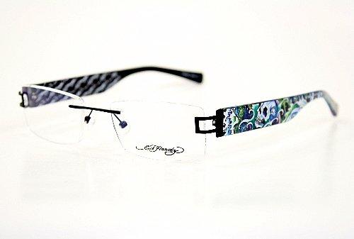 ##Look Ed Hardy Lites EHL810 Eyeglasses EHL 810 Black BLK ...