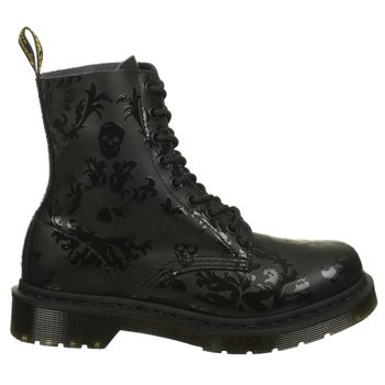 Dr martens women 39 s cassidy combat boot black for Amazon dr martens