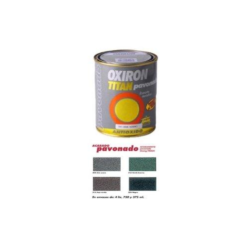 Titanlux - Esmalte p/metal antiox negro 750ml oxiron pavonado 02b020434